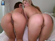 Two smoking fine big booty babies named Penelope Tyler & Dayna Vendetta